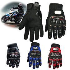 Pro-Biker Motorcycle Motorbike Motocross Summer Fiber Bike Racing Gloves M L XL
