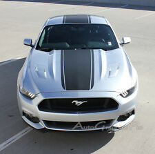 MEDIAN Center Stripes Pony Style Hood Decals GT 3M Vinyl for 2015 Ford Mustang A