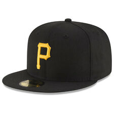 Pittsburgh Pirates New Era MLB On-Field 59FIFTY Fitted Cap Hat – Black