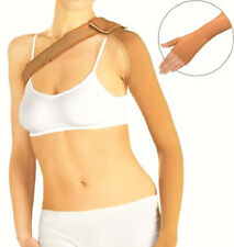 Mastectomy ArmSleeve LUX Compression 23-32 mmHg with hand and  shoulder/bra band