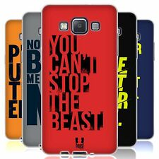 HEAD CASE POWER STATEMENT SILICONE GEL CASE FOR SAMSUNG GALAXY A5 DUOS 3G A500H