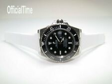 OT AK End Link & 20mm Breathable Rubber Strap / Band fit Rolex Submarine #116610