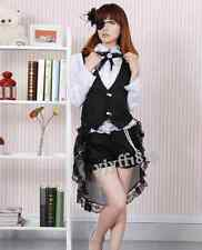 Japanese anime Black Butler Ciel Phantomhive Cosplay Costume Maid dress