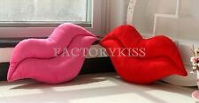 Soft Red Lips Shape Plush Stuffed Toy Novelty Pillow Cushion Bolster Gift SGP