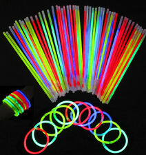 Novelty Glow Stick Party wedding fun Supply Light Bracelets necklace100/200/300P