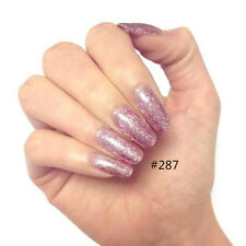 Glitter Gel Color 8ml Soak Off UV Gel Nail Polish Nail Art Manicure Varnish DIY
