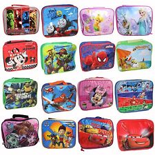 Character & Disney Official Insulated Lunch Bag - 12 Designs to choose from