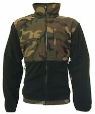 NWT THE NORTH FACE MENS DENALI FULL ZIP CAMO/BLACK FLEECE JACKET *FREE SHIPPING*