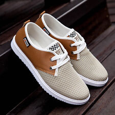 The new spring and summer fashion shoes men's shoes breathable mesh hollow