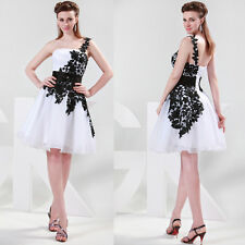 CHEAP~SHORT MINI Prom Bridal Gown Bridesmaid Evening Party Formal Ball Dress NEW
