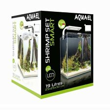 AQUAEL Aquarium Shrimp Set 10,20,30L SMART LED, weiß/schwarz Nano komplett Set