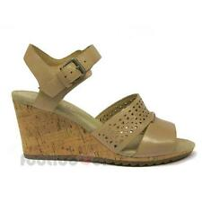 Shoes Geox Alias D52C3A C6738 Taupe Anatomical Women's Sandal Elegant Wedge