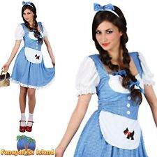 Dorothy wizard of oz plus Storybook UK 6-28 pour femme COSTUME ROBE FANTAISIE