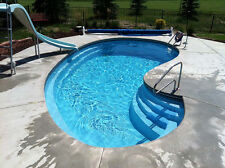 In-Ground Fiberglass Pool - Leading Edge - Crystal Bay - Do It Yourself Package