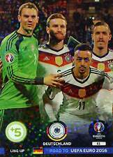 PANINI - ROAD TO FRANCE EURO 2016 - LINE-UP SINGLES 1 - TOPMINT to choose