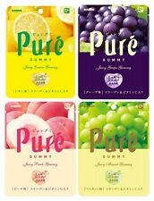 KANRO Pure GUMMY Sour Juicy Gummi Candy include Collagen Vitamin C MADE IN JAPAN