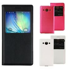 Housse Etui Coque Samsung Galaxy Grand Prime View Flip Leather Case Cover G530