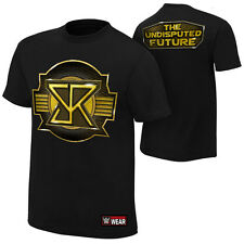 Seth Rollins THE UNDISPUTED FUTURE Black WWE Authentic T-Shirt OFFCIAL LICENSED