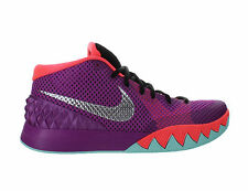 Mens Nike Kyrie 1 Easter Medium Berry Metallic Silver Hot Lava Black 705277-508