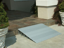 Handicap Entry Threshold Access Ramp Wheelchair Light Aluminum Mobility Ramps