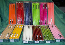 """1 Dozen 15"""" Patrician Hand Dipped Taper Candles Color Choice Made In USA"""