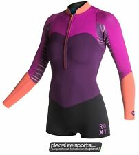 Roxy XY Springsuit Wetsuit Shorty Front Zip Womens Swimming Wetsuit BEST SELLER
