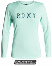 Roxy Rashguard Loose Fit 50+ UV Protection Sun Shirt Palms Away Long Sleeve