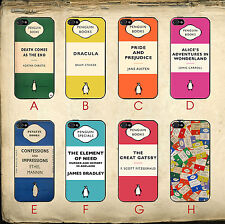 Penguin Books Vintage Alice In Wonderland Great Gatsby Case Cover iPhone 6 PLUS