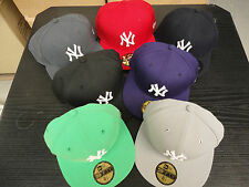 NEW ERA MLB 59FIFTY BASEBALL CAP NEW YORK YANKEES 7 FARBEN SONDERANGEBOT TOP!!!