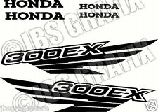 Honda 300EX Decal/Sticker Set *FREE SHIPPING* and COLOR CHOICE