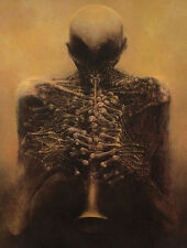 Zdzislaw Beksinski №34 canvas print giclee 8X12 & 12X17 reproduction painting