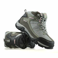 Girls Kids Childrens Hi Tec Waterproof Hiking Walking Ankle Boots Trainers Size