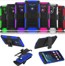 Holster Belt Clip Stand Hard Case Cover For Motorola Droid Turbo XT1254 Verizon