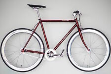 Blue Murder Steamhammer - Fixie/Single Speed  RED/SILVER  (Fixed Bicycle/Bike)
