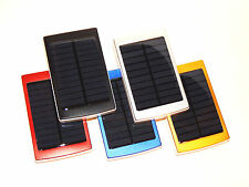 30000mAh Dual USB Solar Power Bank Charger External Battery Pack for Cell Phones
