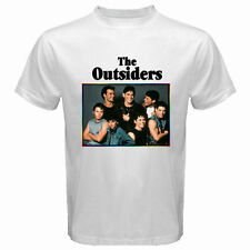 New The Outsiders 80's Drama Movie Men's White T-Shirt Size S M L XL 2XL 3XL