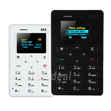 Ultra Thin Basic Locate Mobile Phone - AIEK M5 Card Mobile Phone New
