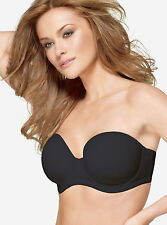 Wacoal Red Carpet Full-Busted Strapless Bra 854119 BLACK NO STRAPS VARIOUS SIZES
