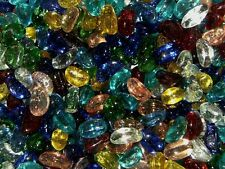 Kidney Shaped Glass Pebbles / Nuggets / Stones / Beads - Choice of Colours