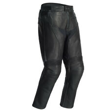Tourmaster Mens Element Cooling Black Leather Motorcycle Pants
