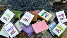 HANDMADE 100% PURE ~ NATURAL SOAP with ESSENTIAL OILS ~ 30 Scents Available.