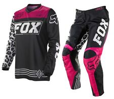 Fox Mx HC Black/Pink Ladies Motocross Off Road Dirt Bike Womens Gear Set