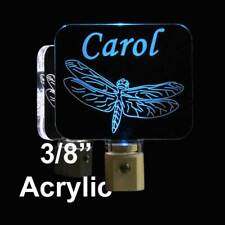 Kids Personalizd Dragonfly LED Night Light- Nursery light, Handmade lamp-Giif