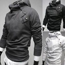 Men Warm Hoodie Hooded Long Sleeve Sweatshirt  Sweater Tops Jacket Coat Outwear