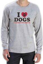 I Love Dogs It's Humans That Annoy me Funny Long Sleeve T-Shirt Pet Puppy Animal