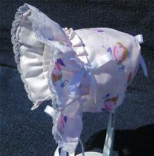 New Handmade Little Girl Theme Baby Sun Bonnet