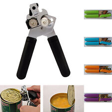 Stainless Steel Heavy Duty Professional Tin Can Opener Easy Grip Kitchen Craft