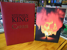 STEPHEN KING, CARRIE, SIGNED & #RD ARTISTS EDITION, 2014