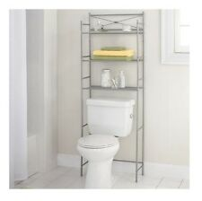 Bathroom Storage Organizer Space Saver Over the Rack Toilet Cabinet Towel Shelf