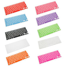 Silicone UK EU Keyboard Cover Skin for Apple Macbook Air Pro Retina MAC 13 15 17